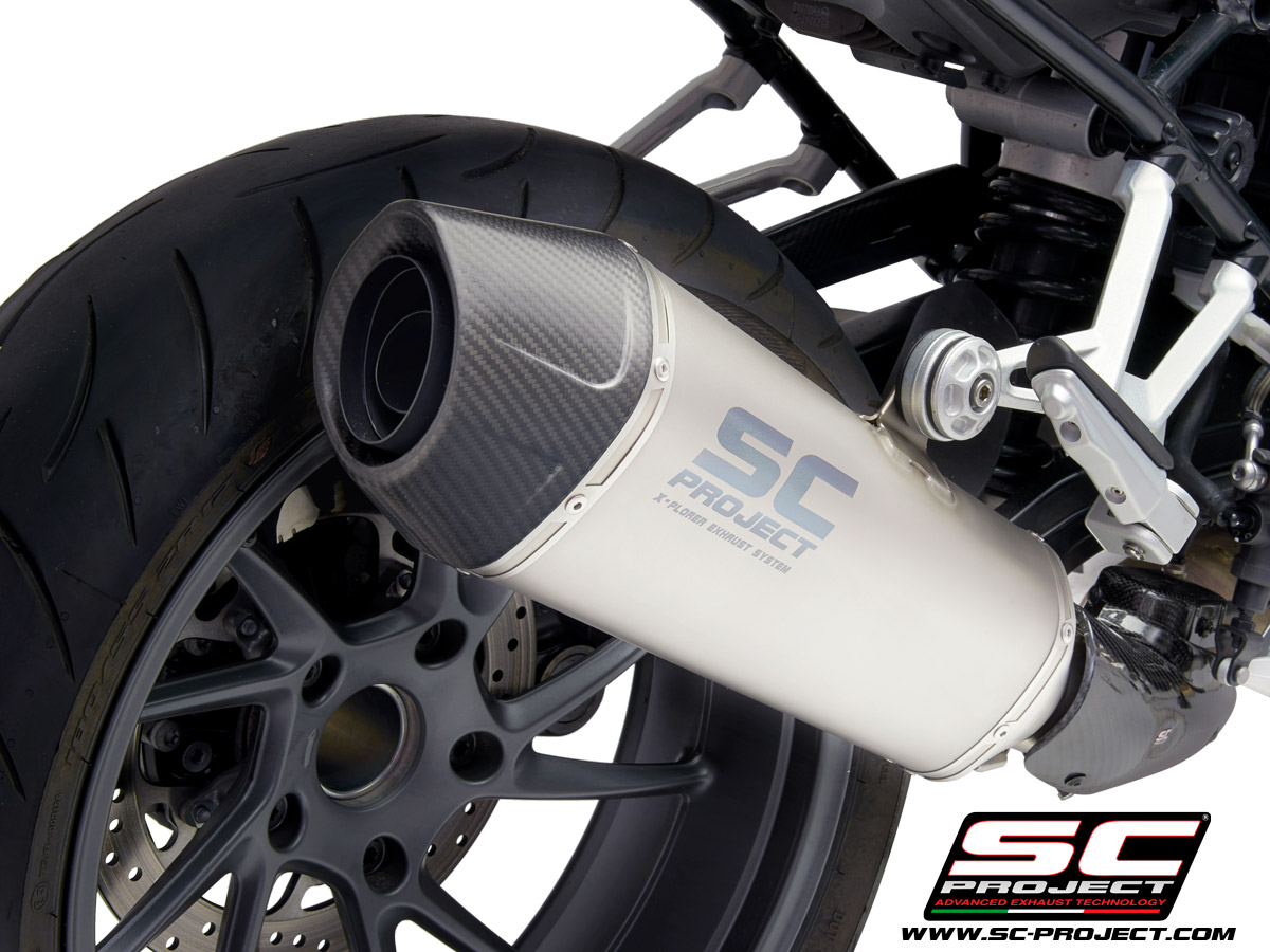 BMW R 1250 R (2021) - RS - EURO 5 X-Plorer II Muffler with Carbon fiber end cap