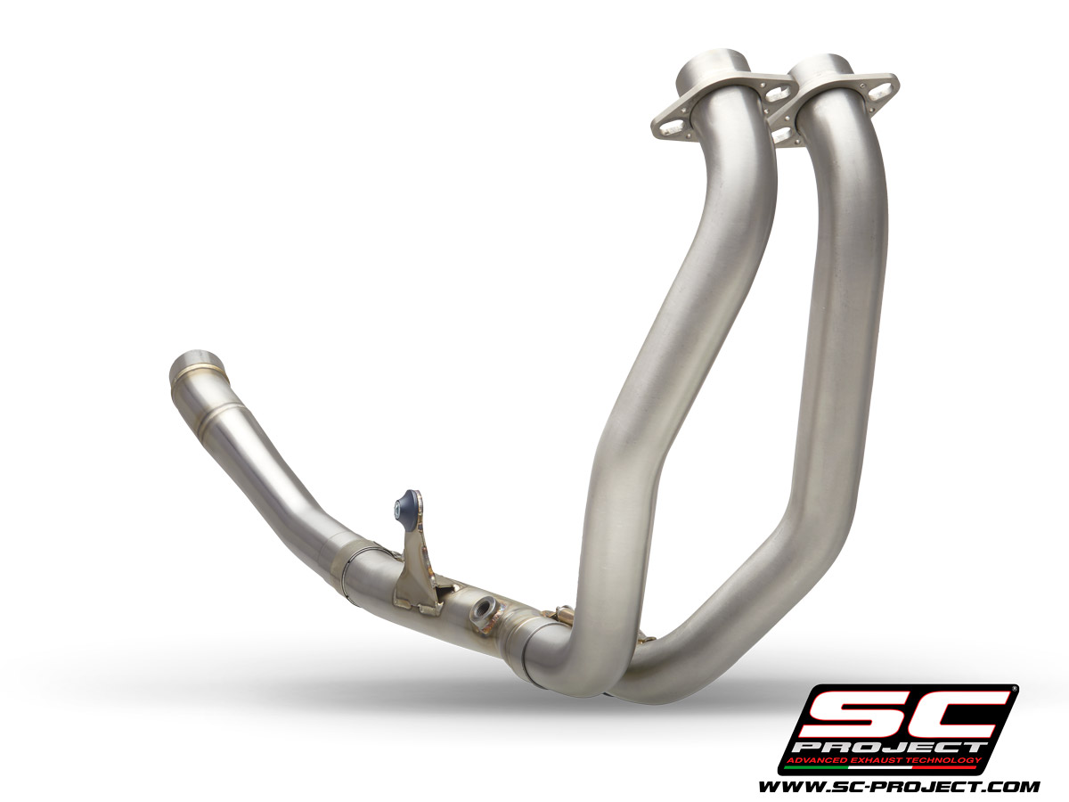 HONDA CBR500R (2021) - EURO 5 2-1 headers, compatible with SC1-M and Oval mufflers (muffler not included)