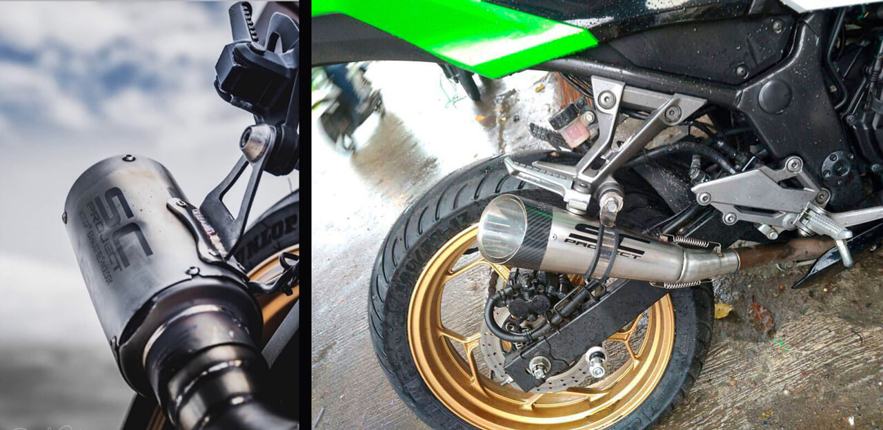 Motorcycle-exhaust manufacturing.