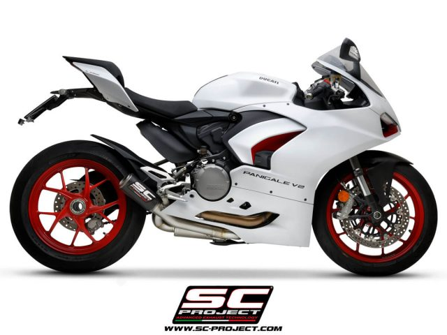 DUCATI PANIGALE V2 (2020 - 2021) Half-system 2-1, with CR-T M2 Muffler