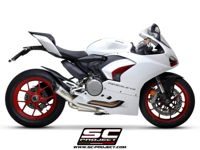 DUCATI PANIGALE V2 (2020 - 2021) Half-system 2-1, with S1 Muffler