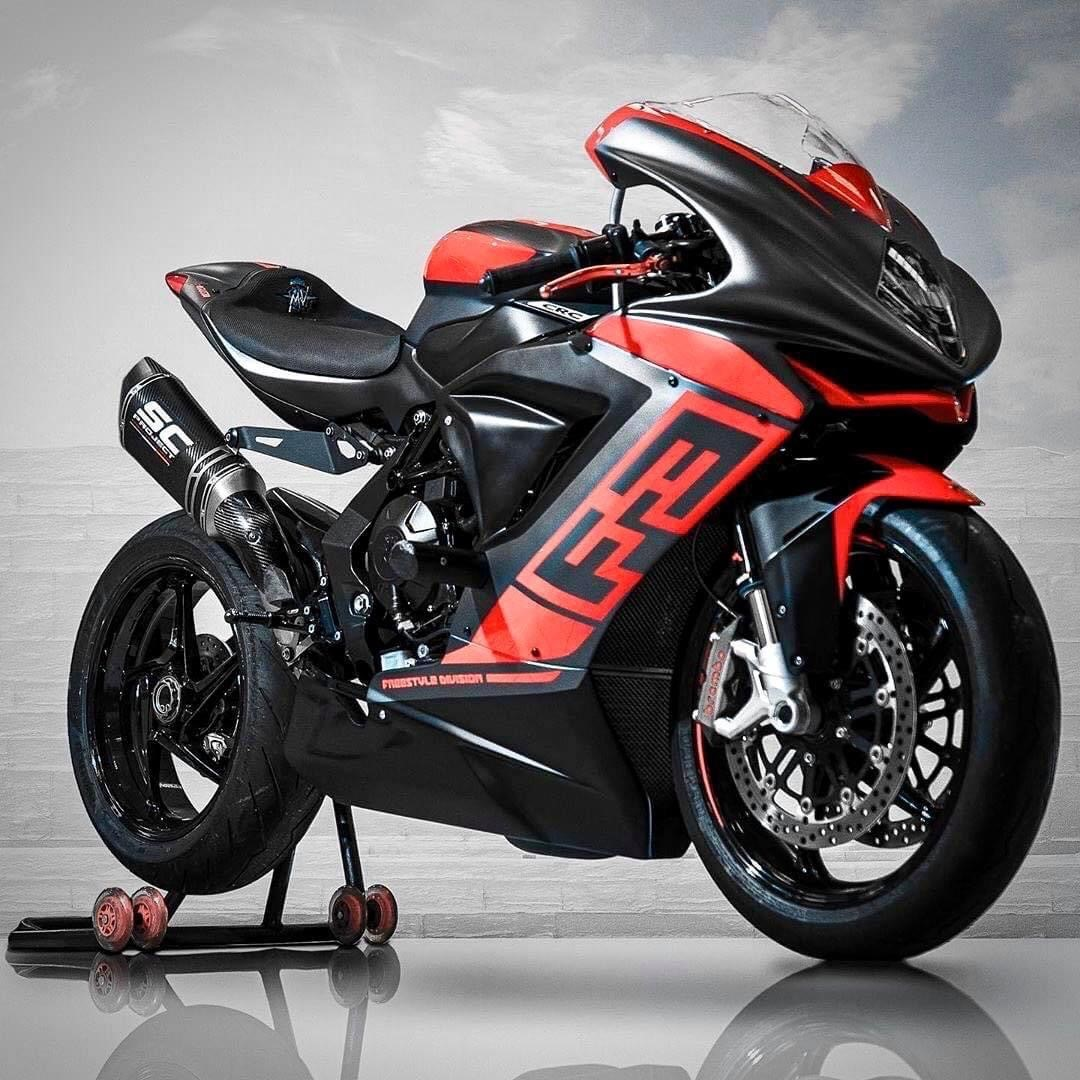 MV Agusta F3 with SC-Project Exhaust SC1-R