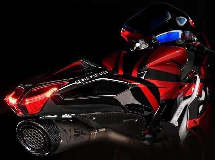 MV Agusta F4 - Lewis Hamilton - SC-Project S1 Exhaust
