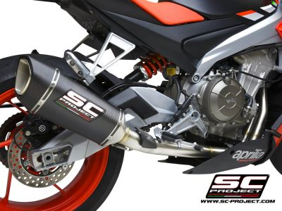 APRILIA RS 660 (2020 - 2021) Full exhaust system 2-1, Stainless steel AISI 304, with SC1-R Muffler