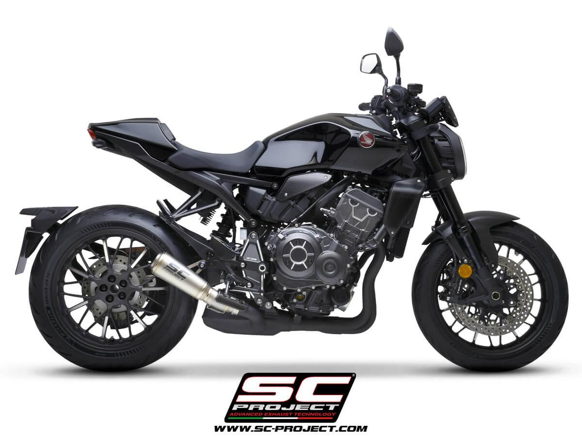HONDA CB1000R (2021) S1-GP Muffler, titanium