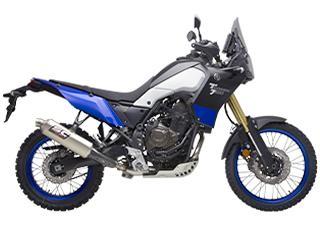 Exhaust for Yamaha Ténéré 700