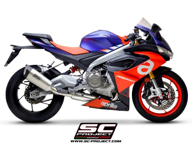 APRILIA RS 660 (2020 - 2021) Full exhaust system 2-1, with SC1-R Muffler - Euro 5